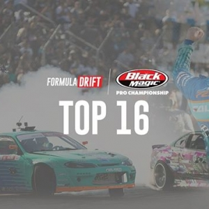 Watch #FDNJ Top 16 LIVE at 130PM PST | 430PM EST: (Link in Bio) @AdvanceAutoParts RD4: The Gauntlet presented by @BlackMagicShine #FormulaDRIFT #FormulaD