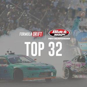Watch #FDNJ Top 32 LIVE at 945AM PST | 1245PM EST: (Link in Bio) @AdvanceAutoParts RD4: The Gauntlet presented by @BlackMagicShine #FormulaDRIFT #FormulaD