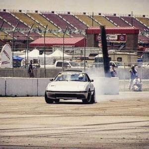 KMR 16 years ago at US Drift, California Speedway. Rotary engines and drifting. Its what we do. #kylemohanracing #drifting #drift #formulad #turbo #boost #Mazda #driftcar #mazda #rotary #brap #fbrx7 #rx7 @kylemohanracing @usdrift @mazdatrixofficial @americanethanol @top1oilusa @exedyusa