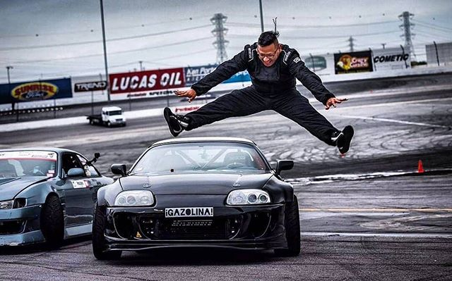 When you realize Round 3 of The Drift League is next month   @carloscanoestrella was excited to debut his new MKIV Supra build at Round 2. What did you guys think? 📸 @gorillatornado
