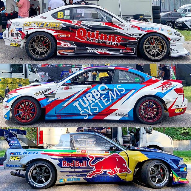 2019 @driftmasters.gp liveries: Riga Baby Part 2.