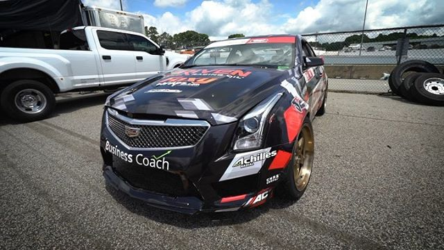 @WheelWell Feature: @TaylorHull82 | @AchillesTire shows us around his Cadillac ATS-V  The virtual garage platform @Wheelwell gives the fans a place to dive deeper into the vehicles of FD. See more in the Formula D Garage: (link in bio)