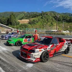 Congrats to @powervehicles100 in 1st, @kanta_xox in 2nd and Koichi Yamashita in 3rd at @formuladjapan Round 4! Final round is at Okayama Circuit in 6 weeks! #fdjapan #formulad #formuladriftjapan #drifting #jzx100 #s13