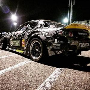 Under the lights last night at @thedriftleague American Ethanol Mazda RX8 @americanethanol @mazdatrixofficial @top1oilusa #RX8 #turbo #RX7 #drift #formuladrift #turbolife #boost #Mazda #formulad #driftcar #drifting #carsofinstagram #car #carporn #racecar #ethanol #ethanolpower #corn #americanmade #biofuels #gobig #japan #rotary