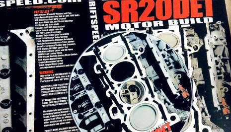 SR20DET rebuild