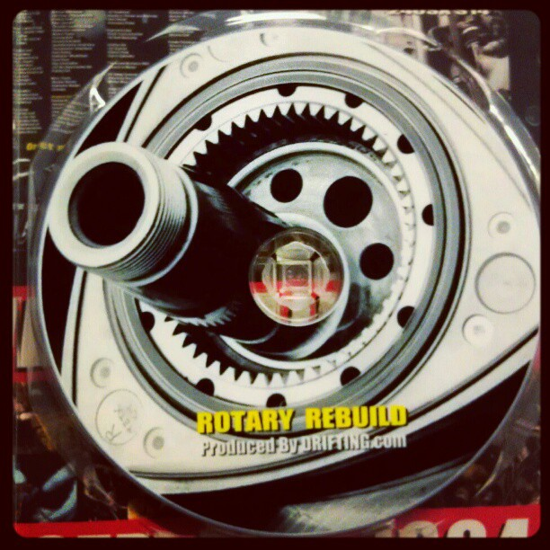 Rotary rebuild dvd