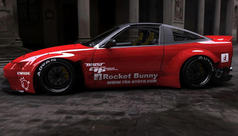Bensopra Rocket Bunny 240SX S13 Body Kit