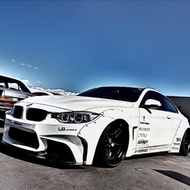 Liberty Walk BMW 4 Series Will Be At SEMA @libertywalkkato