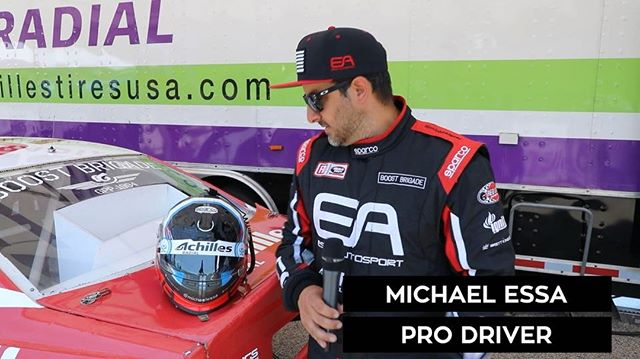 Head Game: Strong @michaelessa if Team @achillestire previews his new helmet.  Watch LIVE today at 4:15 PM EST (link in bio)