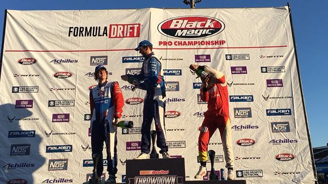 Congrats to @jamesdeane130 in 1st, @ryantuerck in 2nd and @piotrwiecek in 3rd at @formulad Round 5!