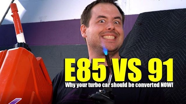 E85 vs 91 - Why your turbo car should be converted NOW!!! (Part 1 of 9) Full 9 Minute Video on Youtube (Link in Profile) Hosted by @lspecauto Video by @driftingcom