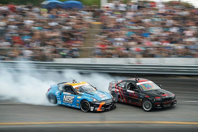 Battle at an Angle @alexheilbrunn | @nittotire vs. @chrisforsberg64 | @nexentireusa  On the attack at RD1: The Streets of Long Beach on Apr 5-6th. Tickets on Sale Now: (link in bio)