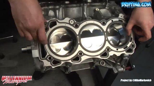 VQ35DE Rebuild (Time-Lapse Edit 1 of 9) – Engine Machining