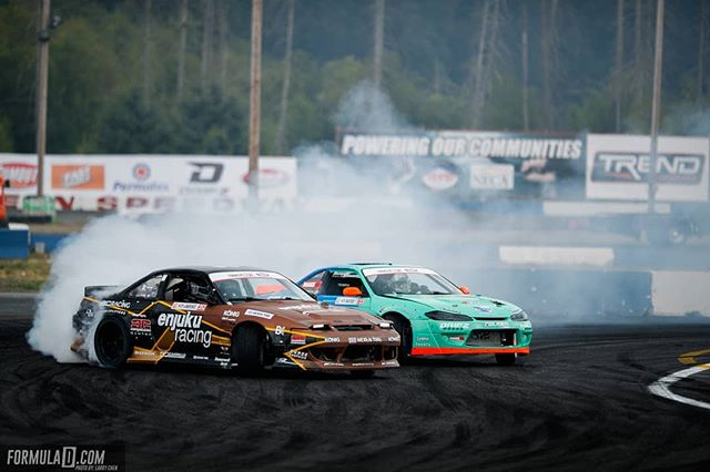 What's your favorite drift chassis? @k_lawrence352 | @nexentireusa vs. @odidrift | @falkentire  FD 2019 | @BlackMagicShine Time to duel at @oreillyautoparts RD1: The Streets of Long Beach presented by @permatexusa on Apr 5-6th. Tickets on Sale Now: (link in bio)