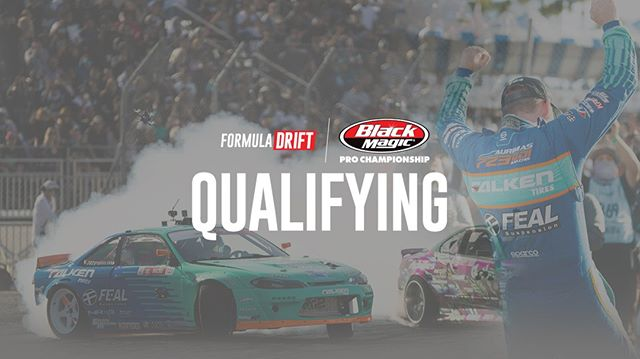 Watch Qualifying LIVE at 12PM PST | 3PM EST: (Link in Bio)  @AdvanceAutoParts RD4: The Gauntlet presented by @BlackMagicShine