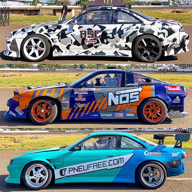 2019 @superdriftbrasil liveries: S Chassis edition.