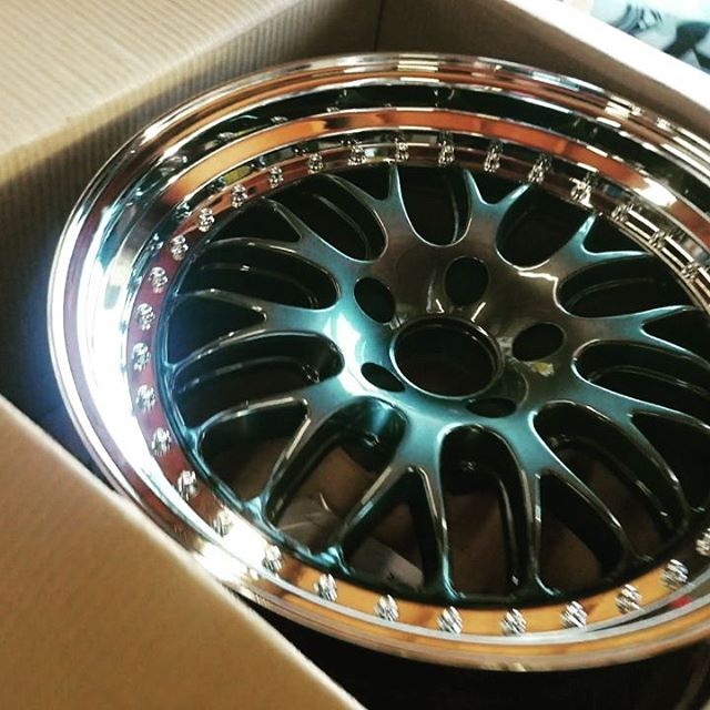 New Wheels. Mid season refresh. New XXR 570s plus some other new items in the works. @xxrwheel keep us rolling.