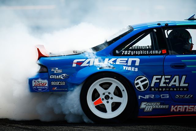 Tell me what you're gonna do now @OdiDrift | @FalkenTire  FD 2019 | @BlackMagicShine Keep rolling, rolling, rolling, rolling to @PepBoysAuto RD6: Crossroads presented by @OfficialRainX in St. Louis, MO. August 9-10 Tickets: (link in bio)