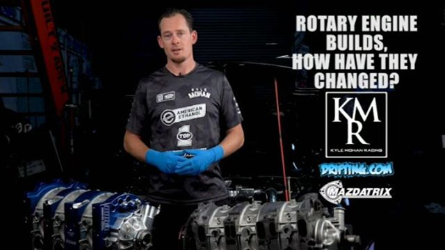 Rotary Engine Builds , How have they Changed? @kylemohanracing @driftingcom