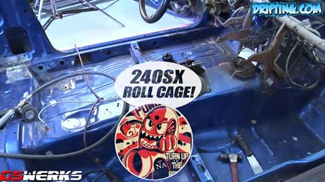 How To Install a 240SX Roll Cage for Drifting 9.5 Minutes Video is on Youtubehttps://www.youtube.com/user/driftingcom Music by Eveningland