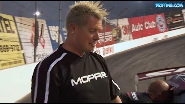 Shaun Carlson and Nick Hogan with the Mopar Viper at Irwindale Speedway in 2006 @nickhogan @officialmopar @driftingcom