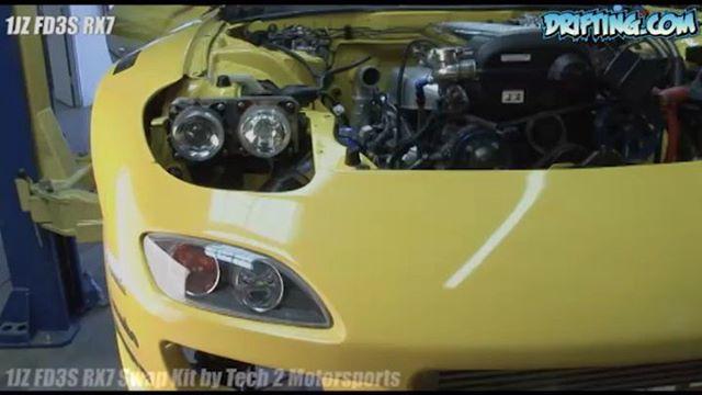 1JZ FD3S RX7 Swap Kit by Tech 2 Motorsports, 2008 Video by@driftingcom Music by @patrickpatrikios