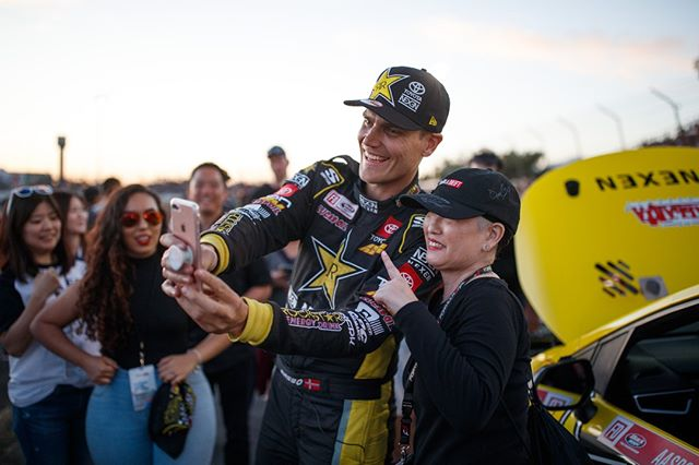 How are you celebrating the holidays? @FredricAasbo | @NexenTireUSA  Watch Highlights from our 2019 Season on our YouTube channel (link in bio)  FD 2019 | @BlackMagicShine