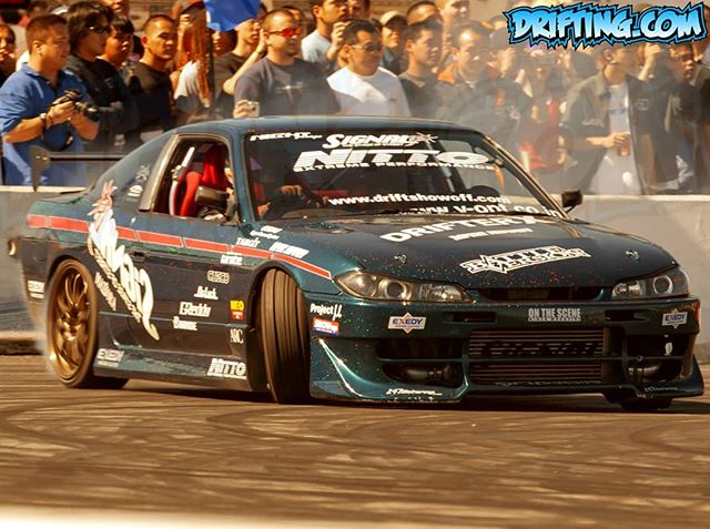 Drifter X / SIGNAL-AUTO at the March 2nd 2003 Drift Showoff at Irwindale Speedway - Photo by Alex
