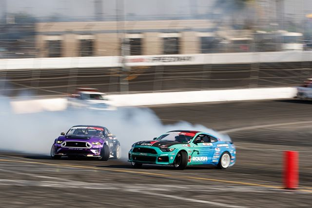 Flexing that Horsepower @JustinPawlak13 | @FalkenTire vs. @ChelseaDeNofa | @NittoTire  Watch Highlights on our YouTube channel (link in bio)
