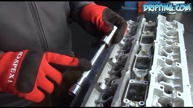 RB25DET Head Rebuild - 2008 Video by @DRIFTINGCOM Hosted by Ali from @katethejeep