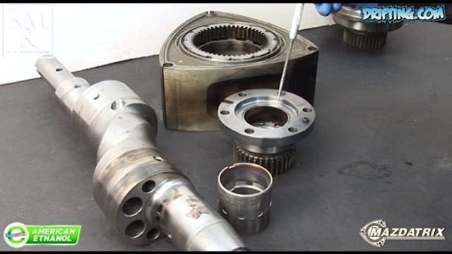 Rotary Engine Bearing Failure Discussed by KyleMohan , Video by DRIFTINGCOM - 2008 Video