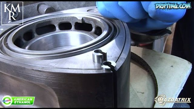 Rotary Engine Corner Seals Discussed by KyleMohan , Video by DRIFTINGCOM - 2008 Video