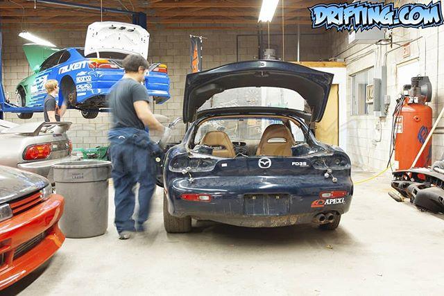 TONY ANGELO & CHRIS FORSBERG, S15 & RX-7 2005  Formala Drift Builds