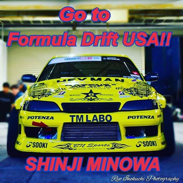 Who wants to see @ShinjiMinowa from @formuladjapan compete in the USA?