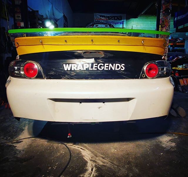 @wraplegends & @aws_graphics  A fresh canvas available soon by KMR.  Formulad RX8  @brapbox 2020 should be fun. year big goals.