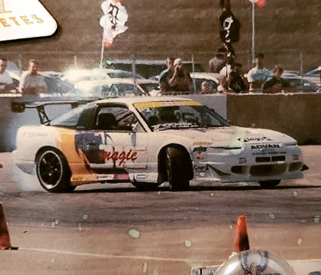 Did you know? Kyle Mohan Racing way back in the day. JIC 180sx. Chicago event. So many people made the dream possible.  Came across the photo and had to post it. Blew up a few blocks before I went