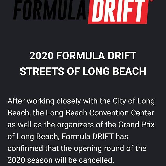 Formula Drift Long Beach Cancelled