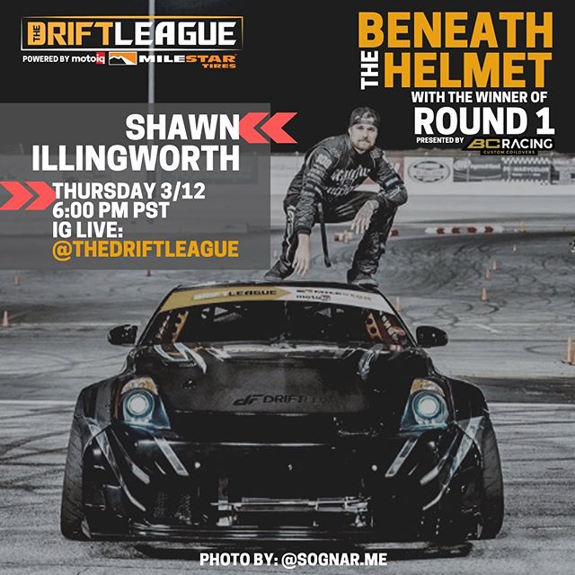 Join us tomorrow at 6:00 pm PST as we chat with @sidewayzshawn and hear about his journey to the top of the podium at Round 1! Drop you questions for Shawn in the comments! 📸 @sognar.me