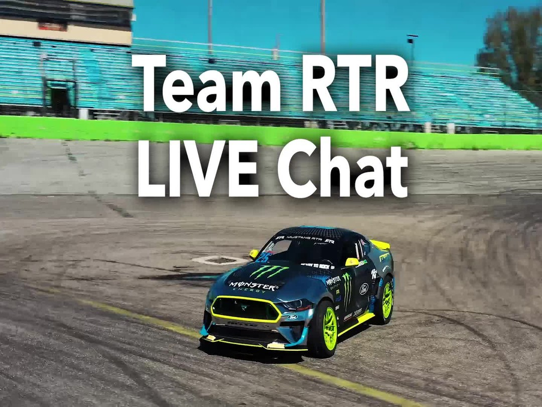 Tune into the @NittoTire Facebook page today at 1pm (PDT) for a Live chat with @VaughnGittinJr and @ChelseaDeNofa!