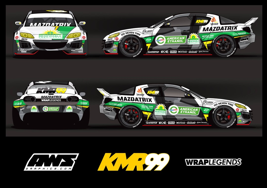 @KyleMohanRacing celebrates sustainability in his new look, adding a modern twist for the classy new Green Machine.  Learn more about the build: (link in bio)