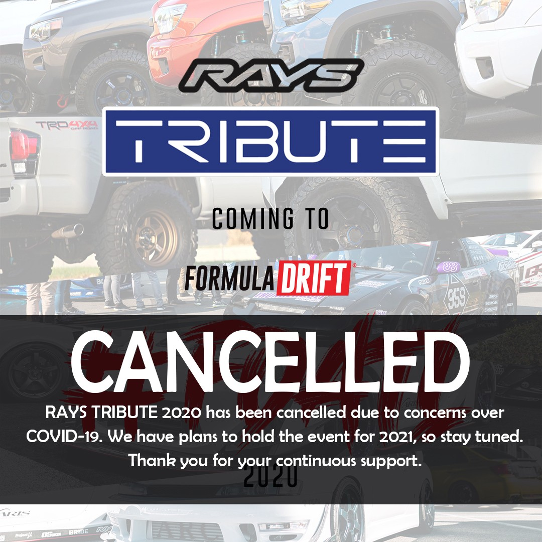 RAYS TRIBUTE 2020 has been cancelled due to concerns over COVID-19. They have plans to hold the event for 2021, so stay tuned.  Thank you for your continuous support.