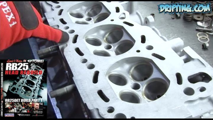 RB25DET Engine Head Rebuild - IG Edit 2008 Video with @katethejeep Music by @iAmStevenSpence