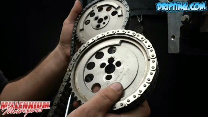 Gear Drive VS Chain Setup For an LS Engine Build  @millennium_motorsports