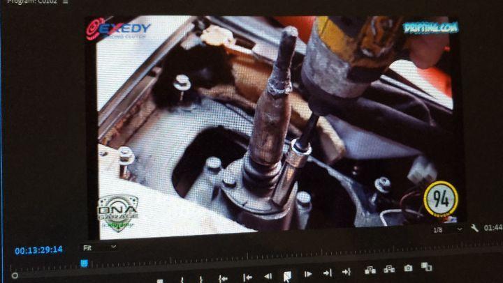 Video Editing ... @94seven_media @officialdnagarage @exedyusa @driftingcom