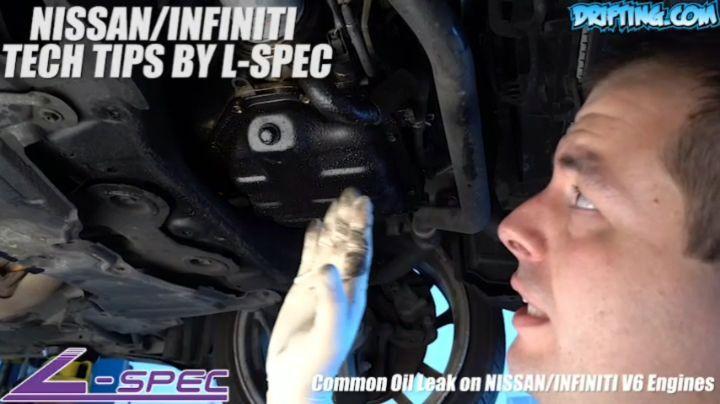 Common 350Z Oil Leak @lspecauto