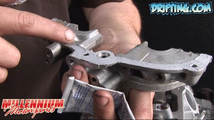 Danger of using too much Silicone - Engine Rebuild by @millennium_motorsports