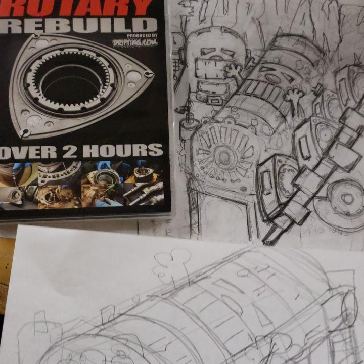 Four Rotor Engine