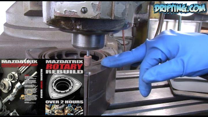 Rotary Rebuild available onDRIFTING.COM- Video by @driftingcom Rebuild by @kylemohanracing at @mazdatrixofficial