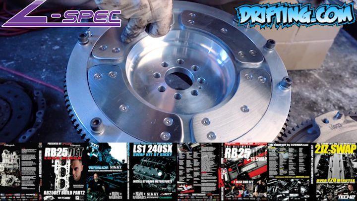 "350Z / G35 Flywheel VQ35DE ""Segmented"" Heat Shield System - Install by @lspecauto Flywheel by @specialtyz"