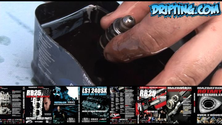 Bleeding SR20DET Hydraulic Lifters - Rebuild by Drift Speed